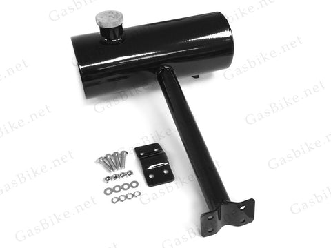 Seat Post Rear Gas Tank 2.0L - Black - Gasbike.net