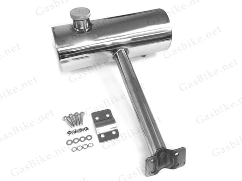 Seat Post Rear Gas Tank 2.0L - Chrome or Black - Gasbike.net