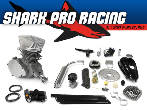 Shark Pro Racing 66cc/80cc Bicycle Engine Kit - Gasbike.net