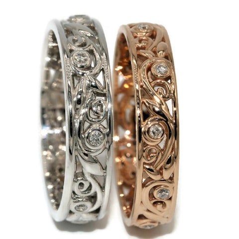 Custom Made Wedding bands