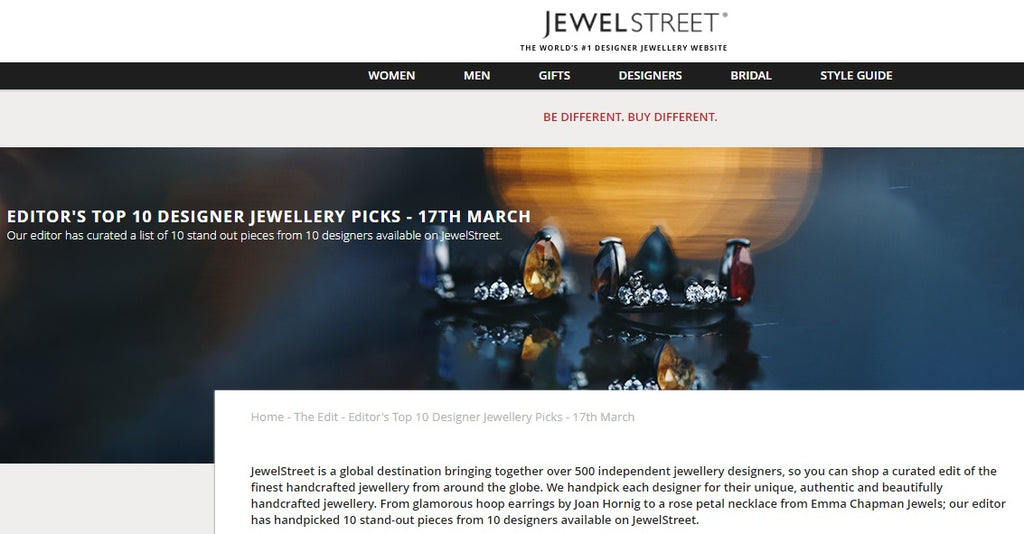JewelStreet Top 10 Designers