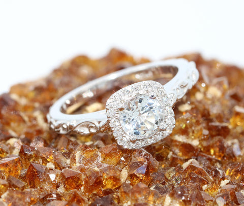 Diamond rings under $1000.