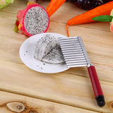 Crinkle Wavy Vegetable Cutter