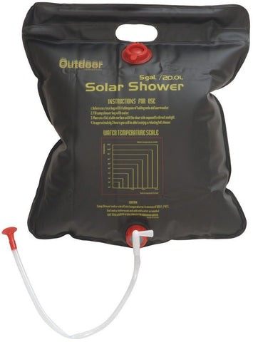 Outdoor Connection 20 Litre Solar Shower - Action Camping & Outdoors