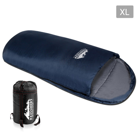 Weisshorn Camping Thermal Sleeping Bag King Size - Navy