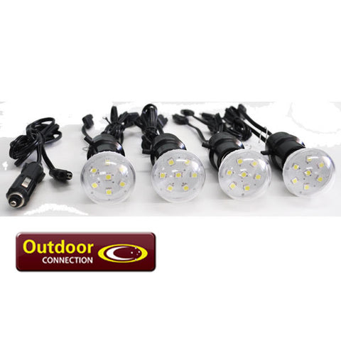 Outdoor Connection 12 Volt Firefly LED Lights - Action Camping & Outdoors - 1