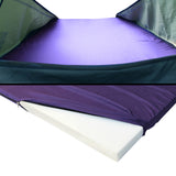Weisshorn King Single Camping Canvas Swag Tent - Celadon W/ Air Pillow - Action Camping & Outdoors - 7