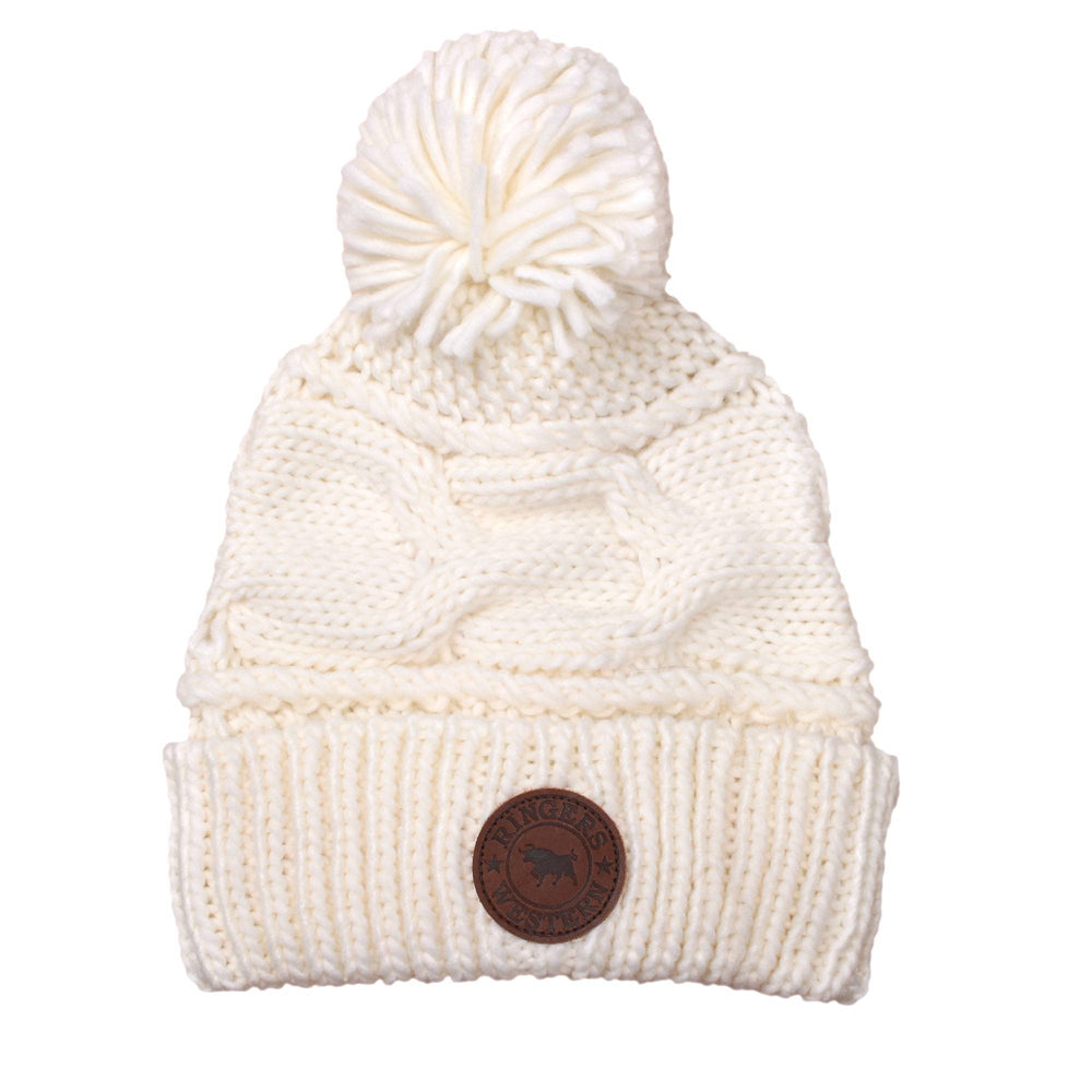 Willow Womens Beanie Cream