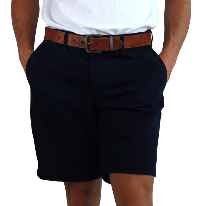Oxley Mens Chino Shorts Navy