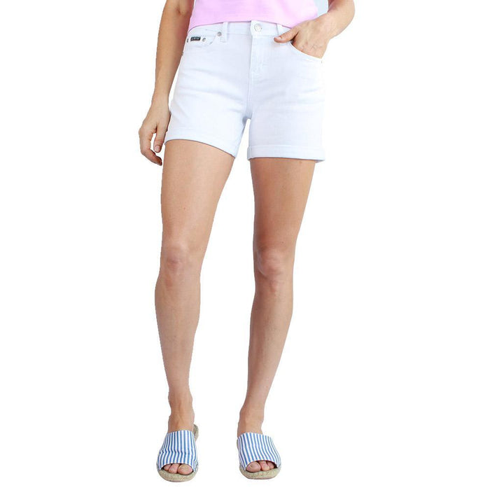 Elizabeth Womens Short White