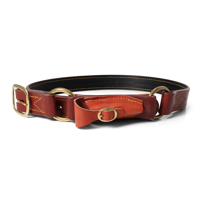 Stockmans Yard Belt - Dark Chestnut