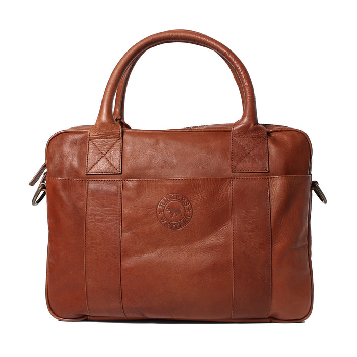 Barnette Unisex Leather Briefcase