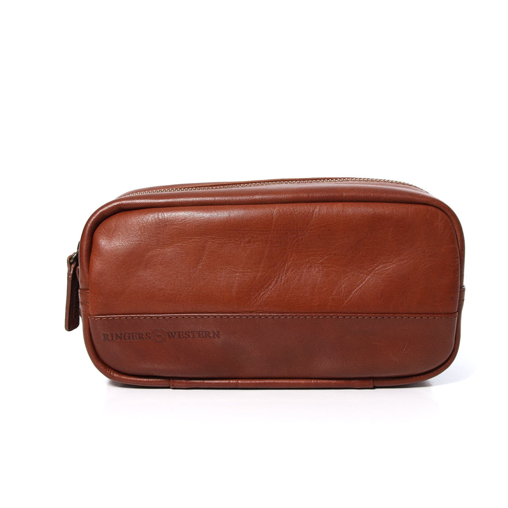Warmun Leather Shaving Case