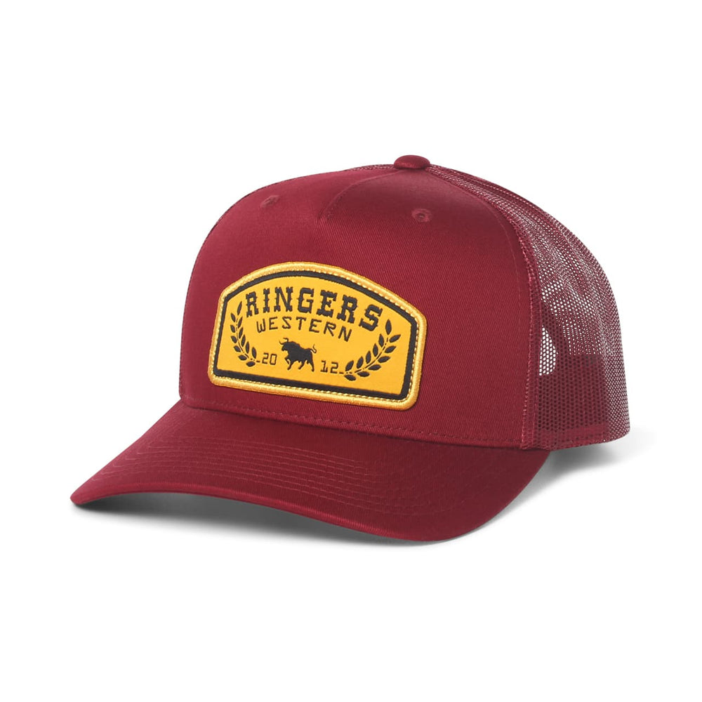 Wheatbelt Trucker Burgundy