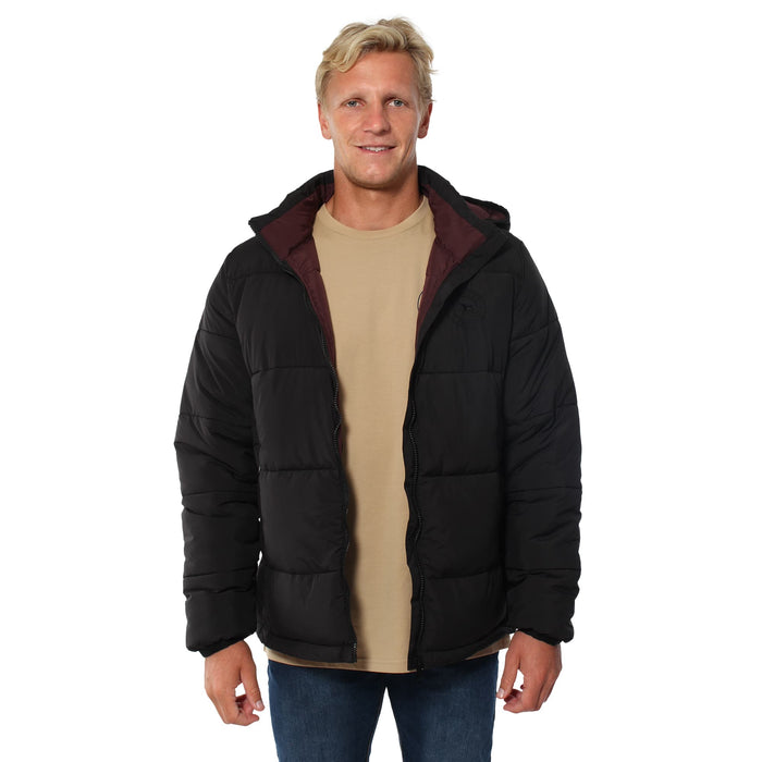 Bairnsdale Mens Puffer Jacket - Black