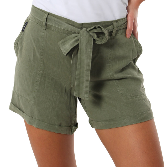 Bethany Womens Short Sage