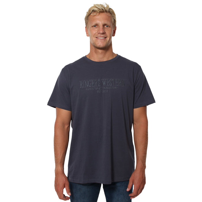 Maroubra Mens Loose T-Shirt - Blue Nights