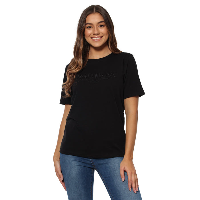 Bells Womens Loose T-Shirt - Black