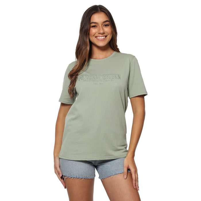 Bells Womens Loose T-Shirt - Desert Sage