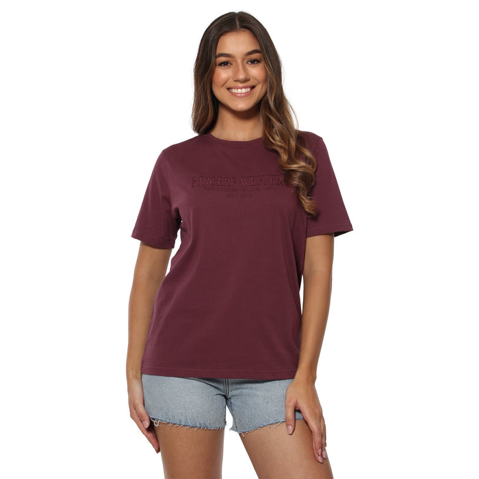 Bells Womens Loose T-Shirt - Port