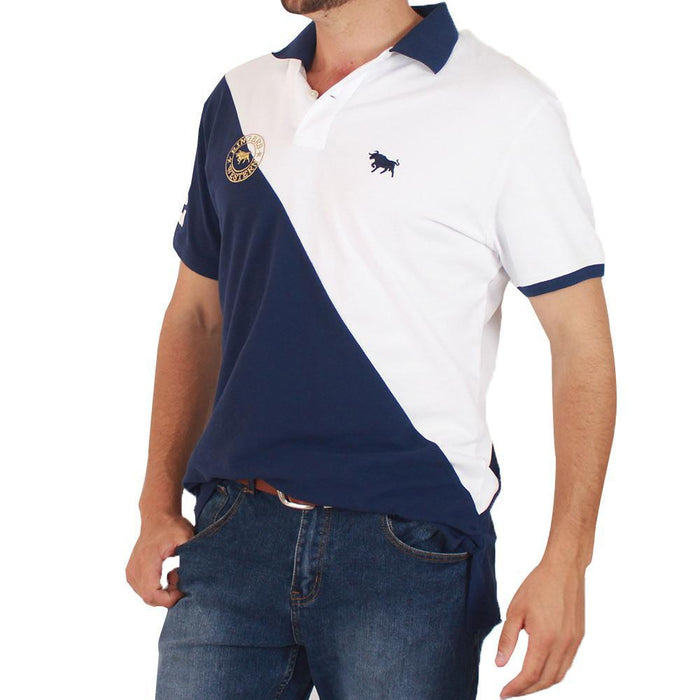 Portsea Mens Fashion Polo Shirt Navy