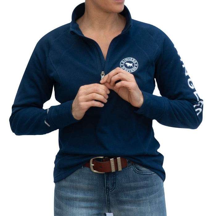 Stanthorpe Womens Performance 1/2 Zip Sweater Navy