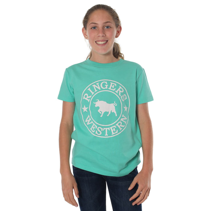 Blueys Kids Classic T-Shirt Mint