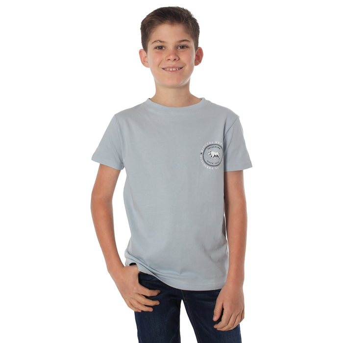 Nullarbor Kids Classic T-Shirt Dusty Blue