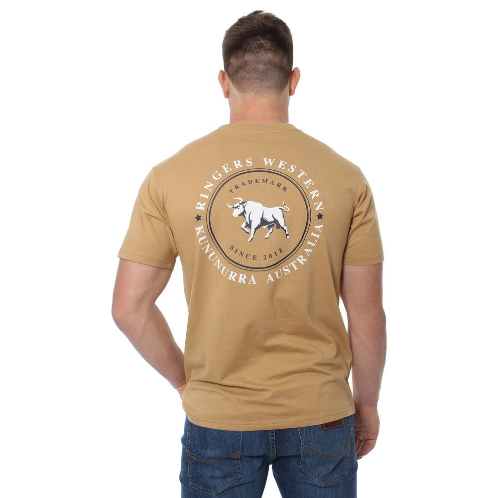 Nullarbor Mens Classic T-Shirt Clay