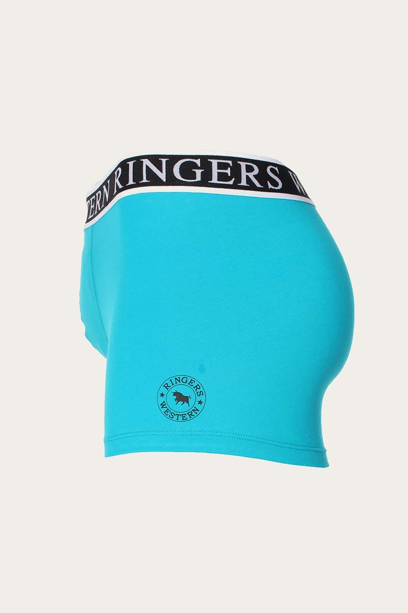 Ringers Mens Classic Trunk Teal