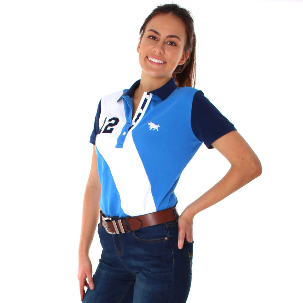 Stirling Womens Fashion Polo Blue