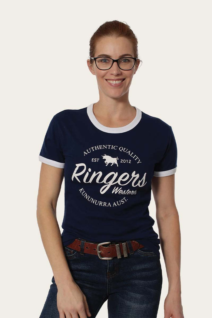 Drysdale Womens Classic T-Shirt Navy
