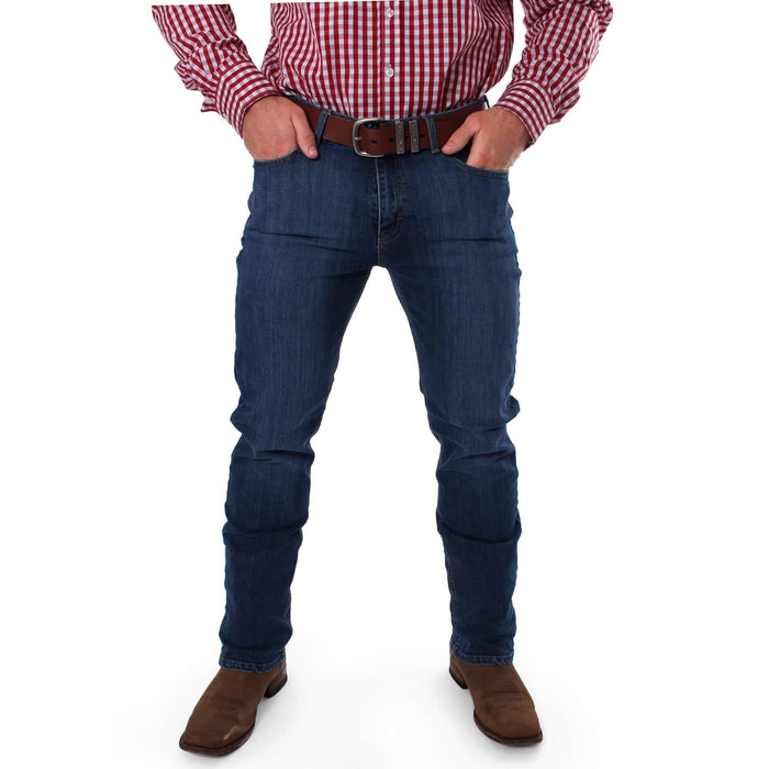 Mens Australian-Made Straight Leg Jean