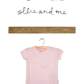 "Imps & Elfs Short Sleeve ""Day To Day"" Tee - Cotton Candy Pink"
