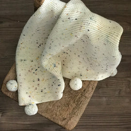 Misha & Puff Heirloom Blanket - Confetti