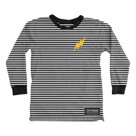 Tiny Whales Super Charged Embroidered Long Sleeve Tee