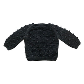 Misha & Puff Popcorn Sweater Graphite