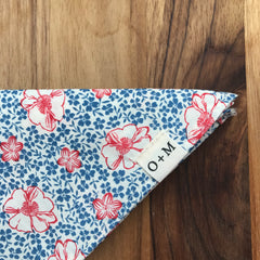 O + M Small Batch Collection - Kerchief - Floral