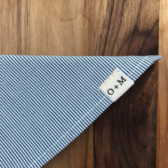 O + M Small Batch Collection - Kerchief - Stripe