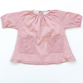 O + M The Label  Olivia Dress  - Blush