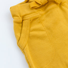 O + M The Label - Not So Basic Fitted Harem Pant  - Sunny Side Up