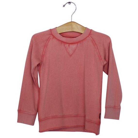 Imps and Elfs Long Sleeve Pullover Sweatshirt - Bubblegum Pink