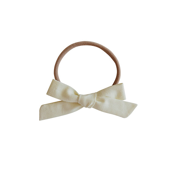 Hadley Girl Schoolgirl Bow Nylon Headband