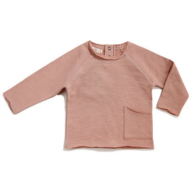 Phil & Phae Essentials Raw Edge Sweatshirt Dusty Blush