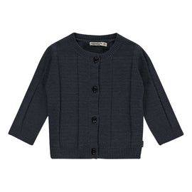 Imps & Elfs Long Sleeve Cardigan - Dark Blue
