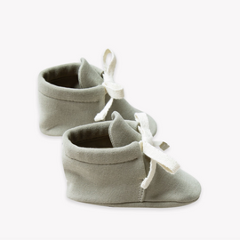 Quincy Mae Baby Boots Sage