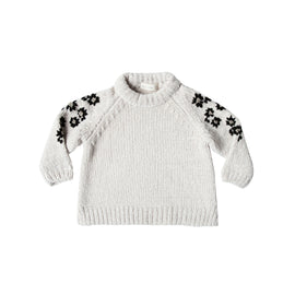 9d7d0c1d90f7 Rylee + Cru Floral Embroidered Chenille Sweater ...