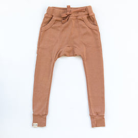 O + M The Label - Not So Basic Fitted Harem Pant  - Toast