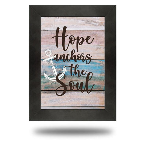 Hope Anchors the Soul - Redline Steel