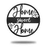 Home Sweet Home (Circle) - Redline Steel